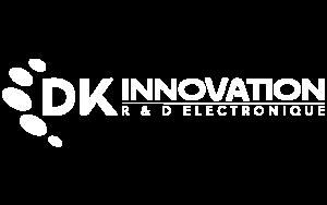 logo dk innovation blanc