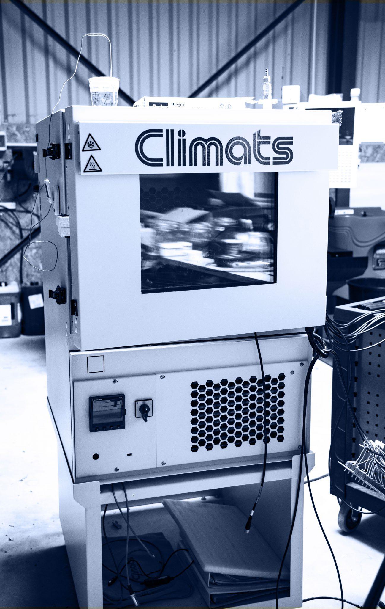 enceinte climatique
