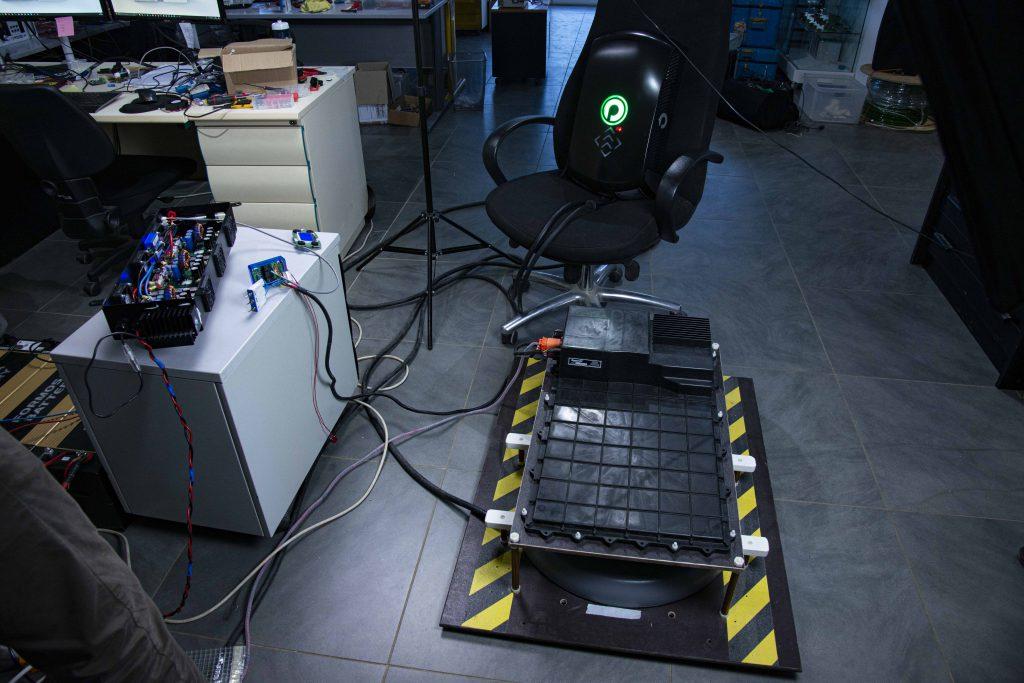 Chargeur induction électronique